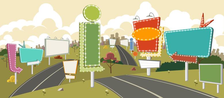 Panneaux d 39 affichage libre publicit ext rieure cadre for Piscine de lomme