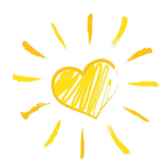 сердце на солнце картинки детям следствия